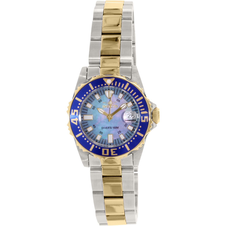 invicta s 2961 blue stainless steel quartz fashion