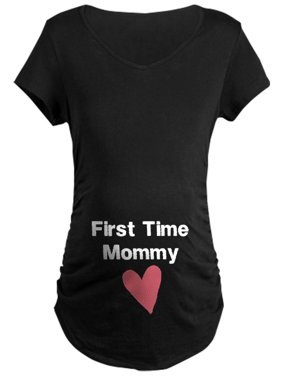 b8a4dcc4e9370 Product Image CafePress - Cute First Time Mommy Maternity T-Shirt -  Maternity Dark T-Shirt