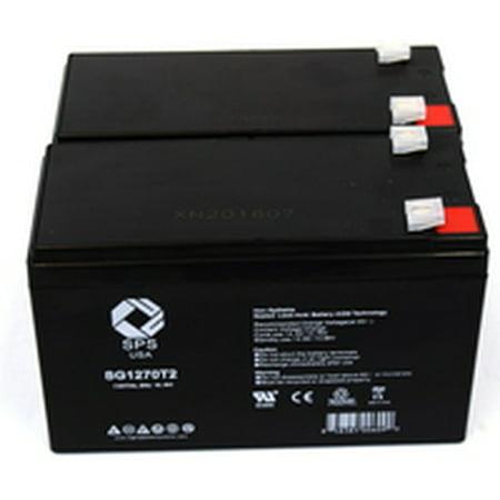 Sps Brand 12V 7 Ah Replacement Battery  For Mge Pulsar Evolution 3000 Ups  2 Pack