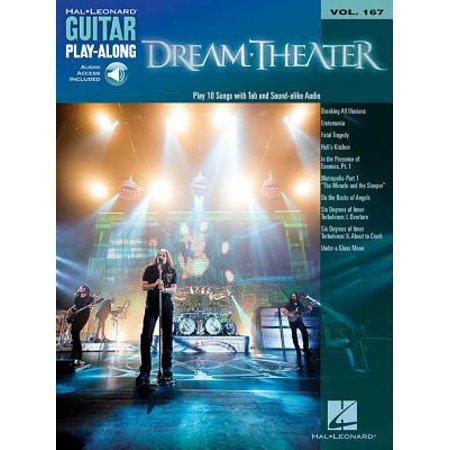 Dream Theater : Guitar Play-Along Volume 167
