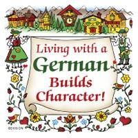 German Gift Idea Magnet (Living With A German)](German Outfit Ideas)