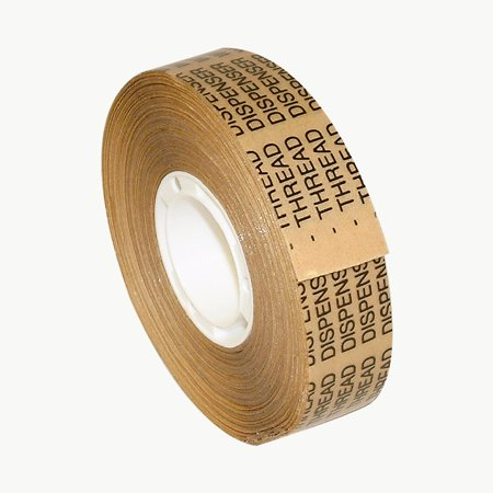 Scapa TD-500 Heavy-Duty ATG Tape: 3/4 in. x 18 yds. (Clear Adhesive on Tan Liner) (Clear Adhesive)