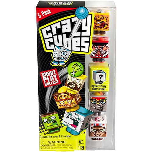 Crazy Cubes, Circus Theme, Set of 5