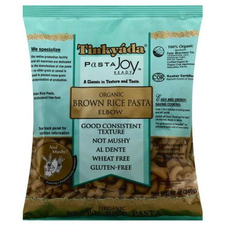 Tinkyada Organic Brown Rice Pasta Elbow, 12 Oz (Pack of -