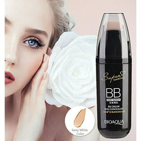 Yosoo BB Cream, 1pcs Hot Sale 30g Scrolling Roller Air Cushion BB Cream Waterproof Concealer Moisturizing Foundation Makeup Bare Whitening Face Beauty Makeup