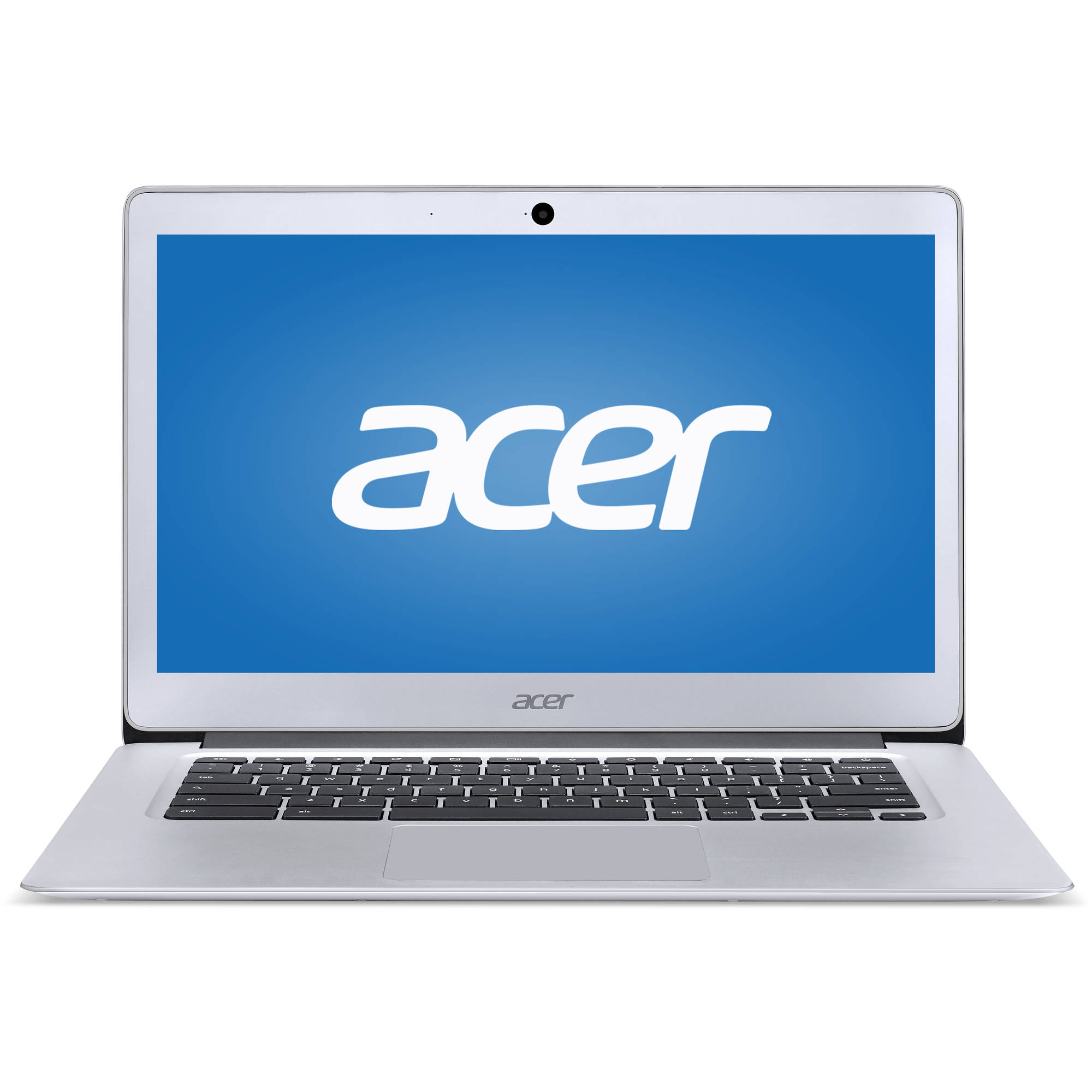 "Acer Sparkly Silver 14"" CB3-431-C5FM Chromebook PC with Intel Celeron N3160 Processor, 4GB Memory, 32GB Flash Drive and Chrome OS"