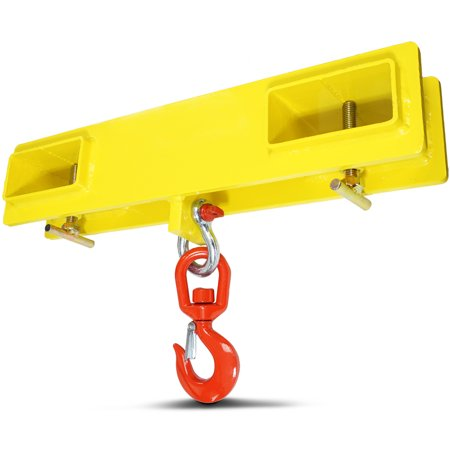 Forklift Hook Attachment (Titan Forklift Lifting Hoist Swivel Hook Mobile Crane 4000 lb. capacity lift )