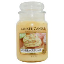 Yankee Candle Vanilla Cupcake Scented Large Jar