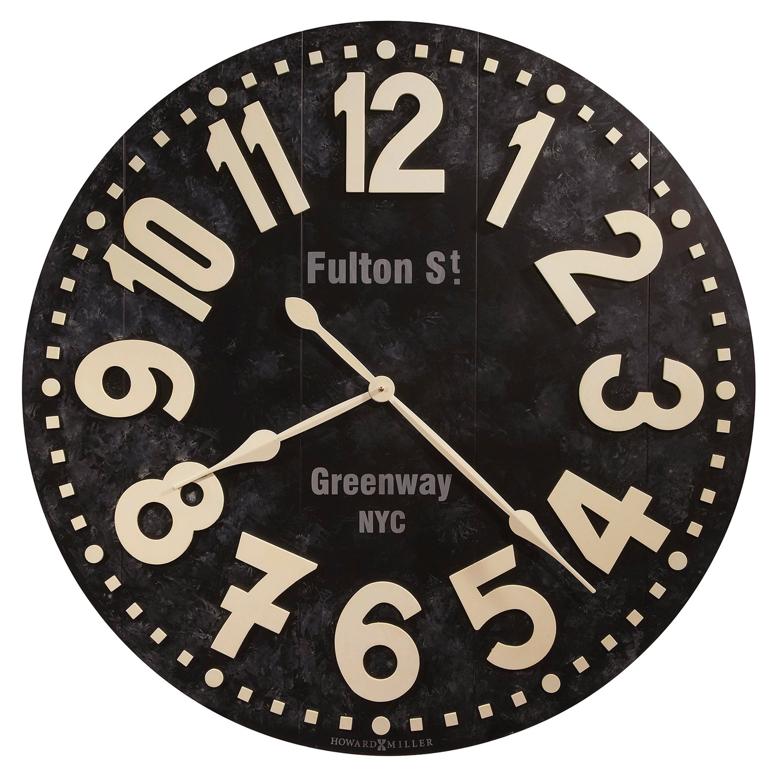 Howard Miller Fulton Street 36 in. Wall Clock