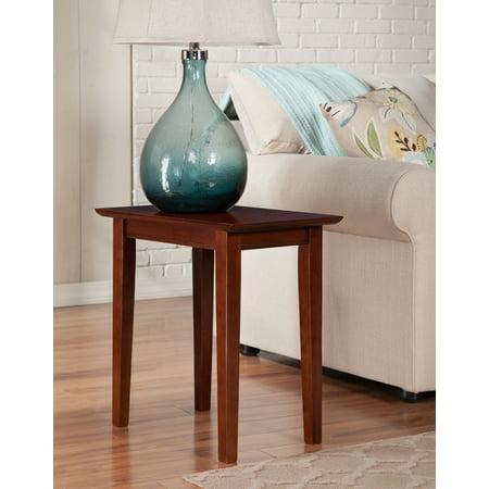 Shaker Chair Side Table in Walnut or Caramel ()