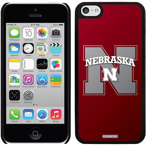 Nebraska Watermark Design on iPhone 5c Thinshield Snap-On Case by Coveroo