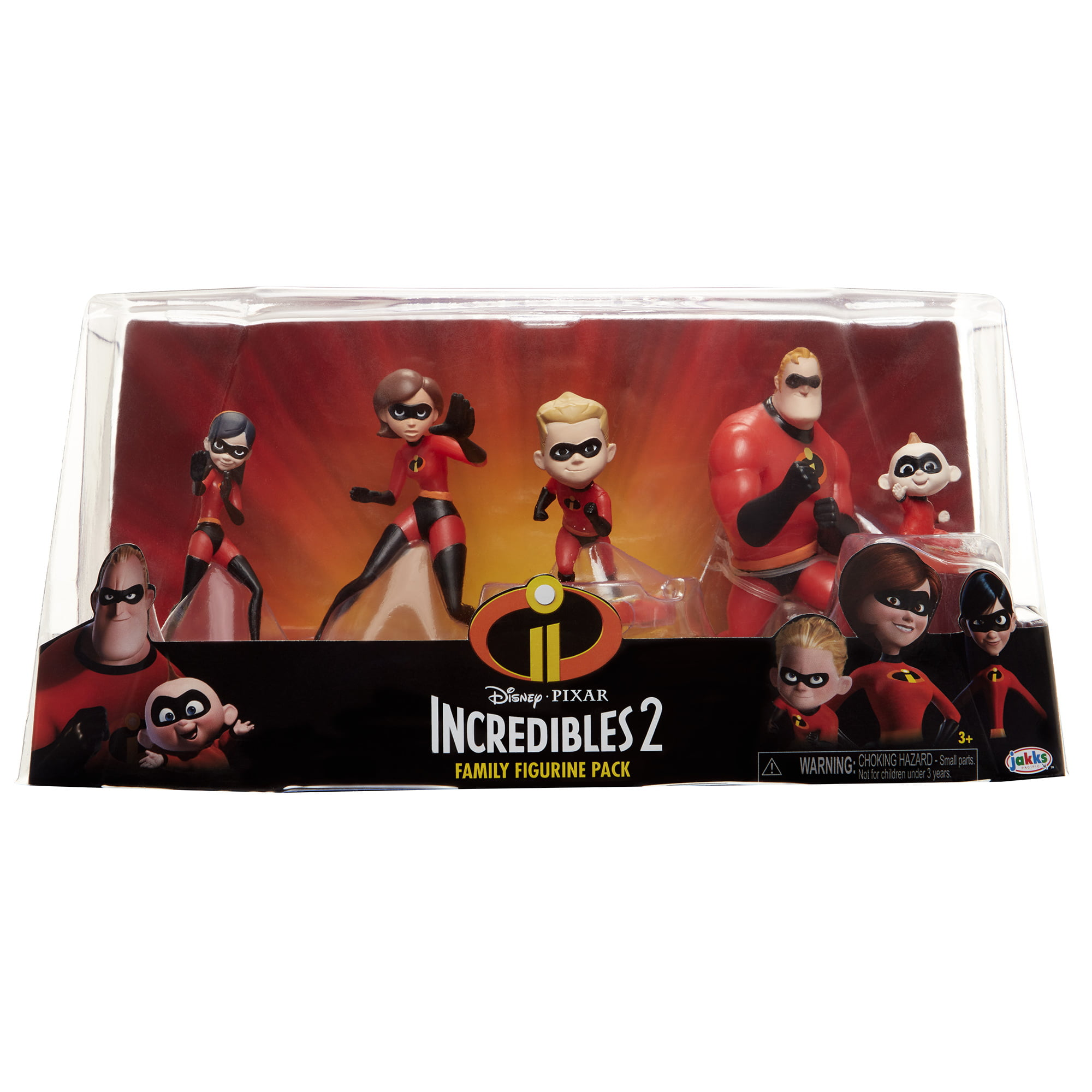 Incredibles 2 family 5 piece family figure set