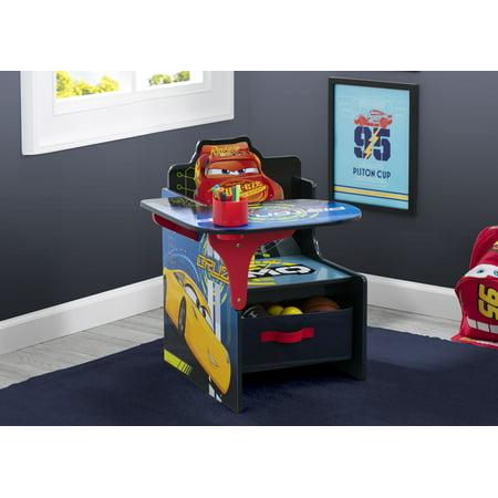 Disney Pixar Cars Chair Desk with Storage Bin by Delta Children