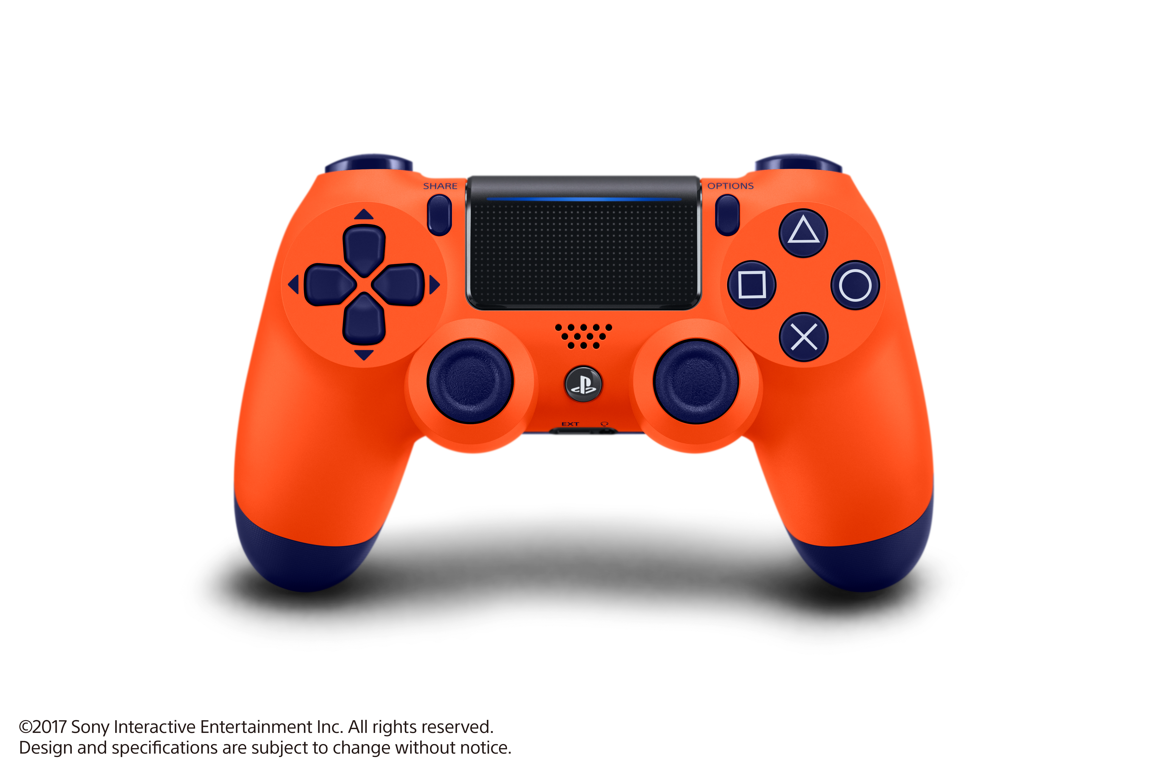 Sony PlayStation 4, DualShock 4 Controller, Sunset Orange, 3003241 by Sony