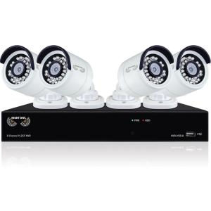 8CH H.265 NVR 4X2K 4.0MP CAMERAS 2TB HDD BB