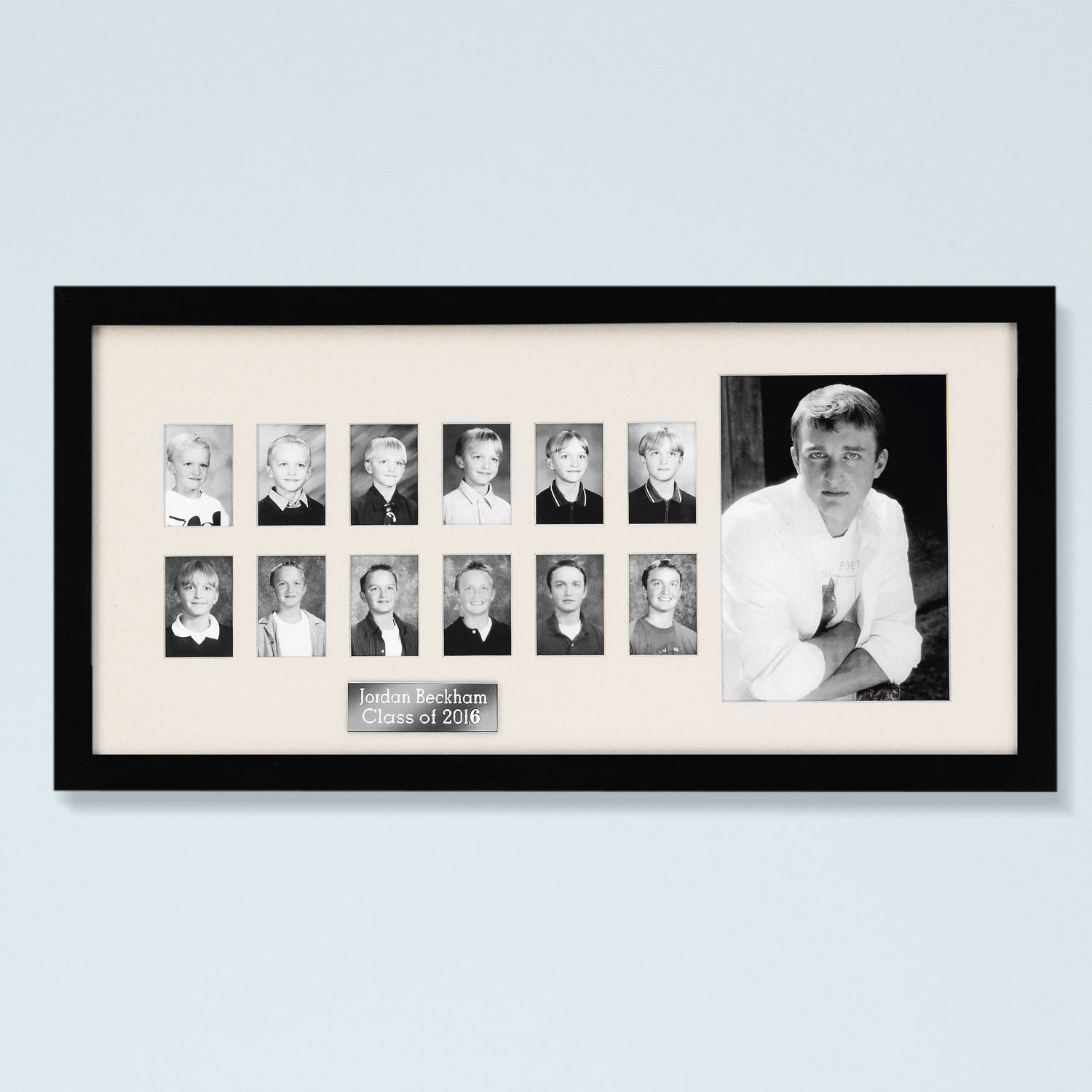 "Personalized ""Through the Years"" Photo Frame"