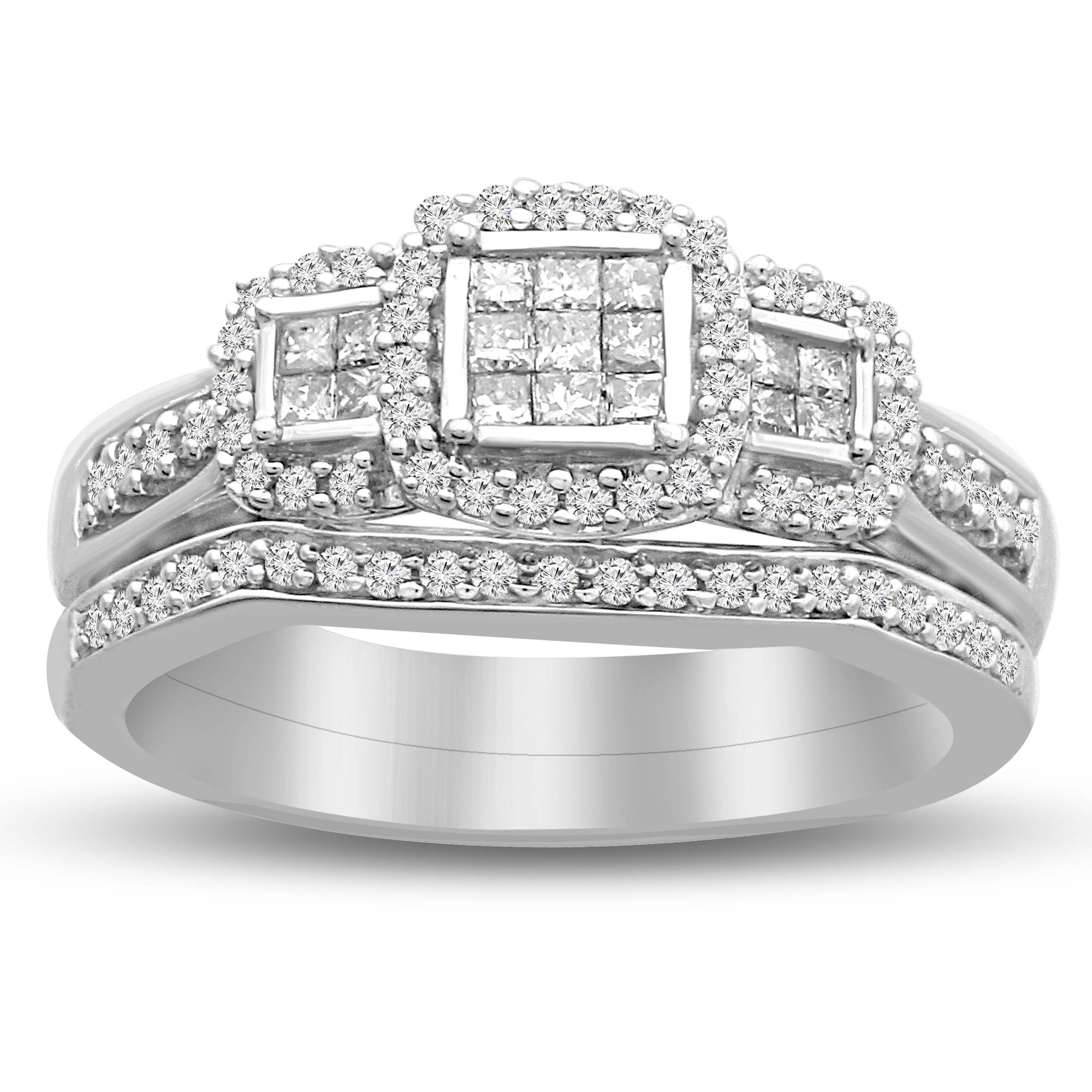 t wedding carat engagement rings w quad diamond com forever ring platinaire always ip walmart