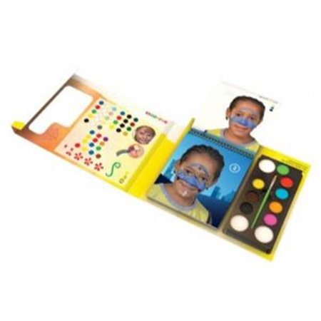 (Price/ST)Snazaroo 1180018 Face Painting Studio Set (Snazaroo Face Painting Kit Halloween)
