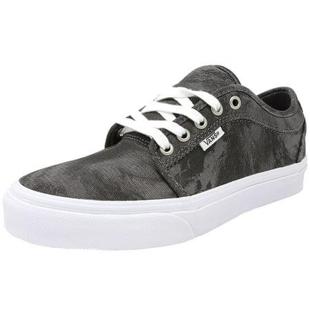 c93e007b0cab Vans Men s Chukka Low Cyclone Charcoal   Black Ankle-High Canvas Skateboarding  Shoe - 7M