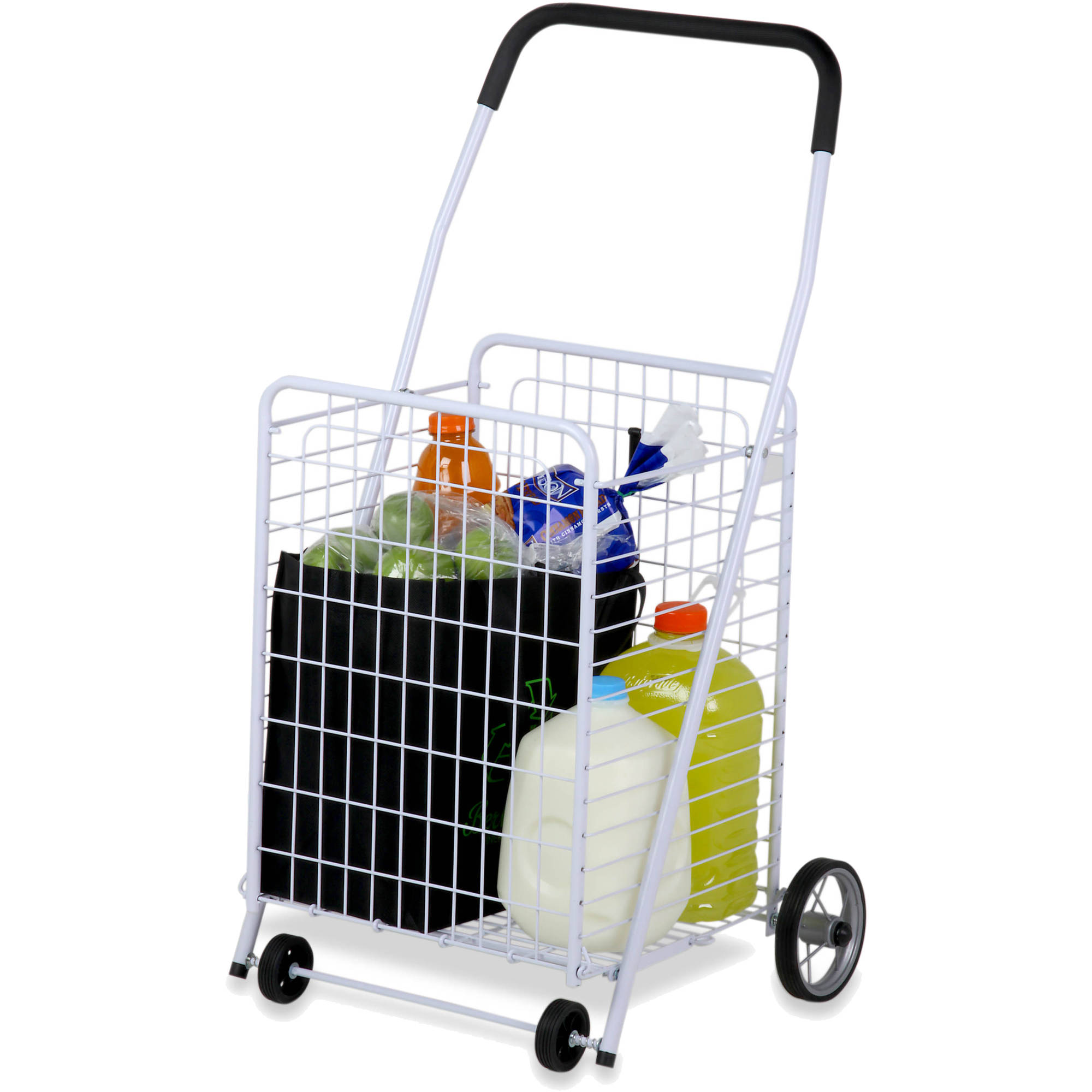 40dcd398ac54 Honey Can Do Steel Folding 4-Wheel Utility Rolling Cart, Multiple Colors
