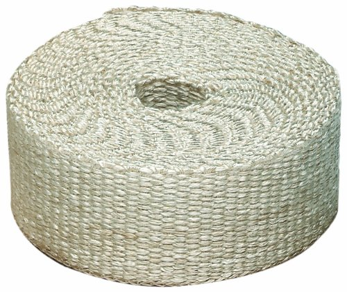 "Heatshield Products 325002 Off White Inferno Wrap 1"" Wide..."