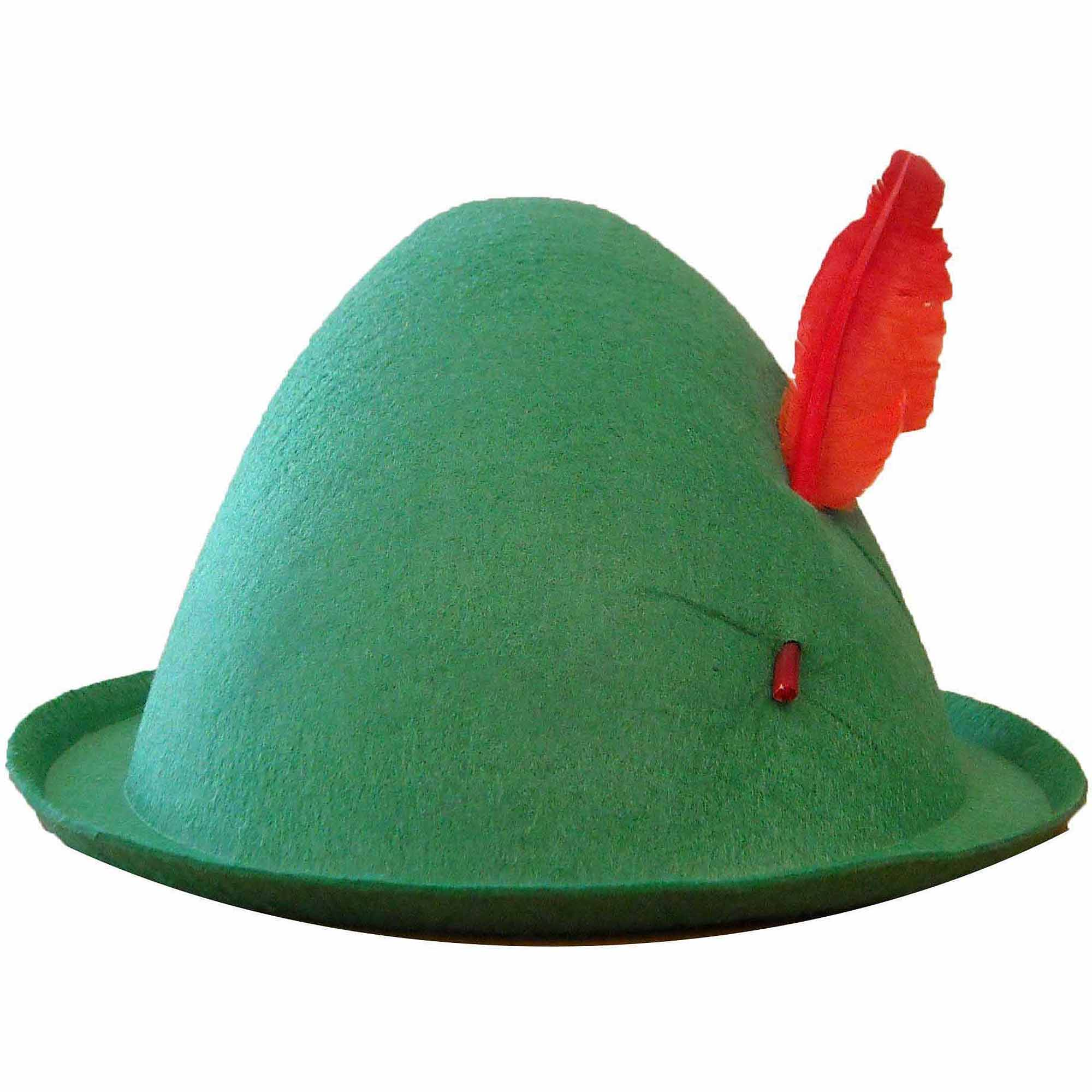 Economy Alpine Hat with Feather Adult Halloween Costume Accessory