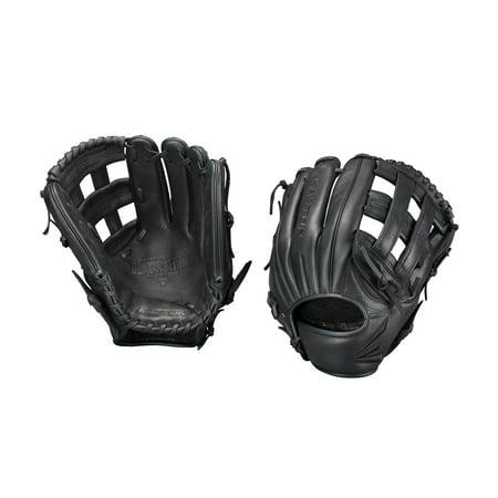 EASTON BLACKSTONE Baseball Glove, Right-Hand Throw, 11.75