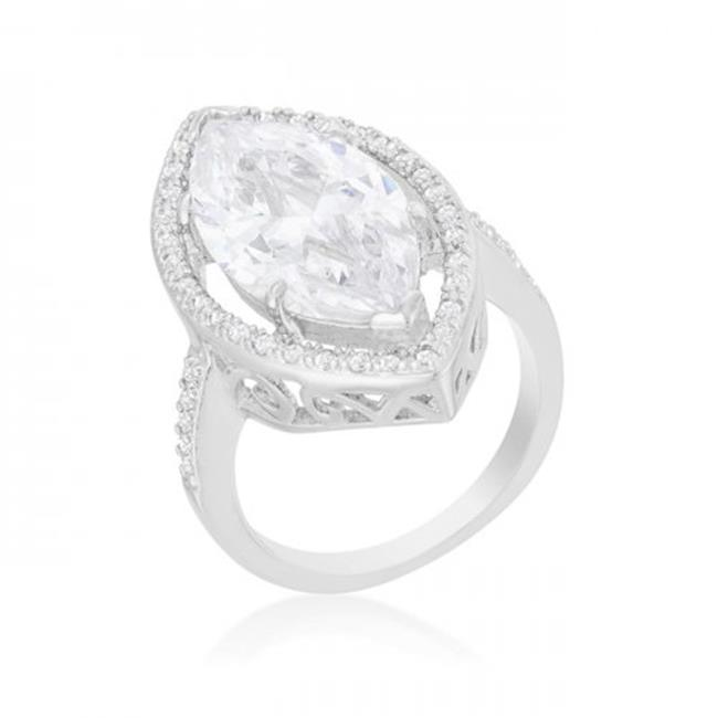 Marquise Cocktail Ring, Size 9 - image 1 de 1