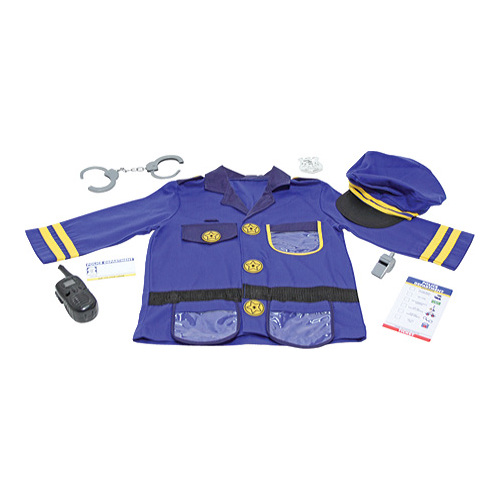Children's Melissa & Doug Police Officer Role Play Costume Set