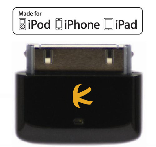 KOKKIA i10s (Black) : Tiny Bluetooth iPod Transmitter for...