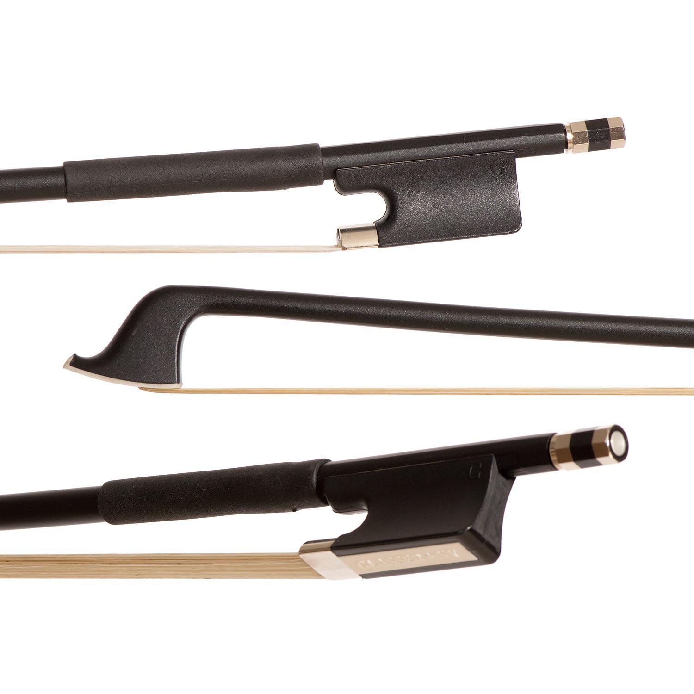 Glasser Standard Black Fiberglass 3 4 Cello Bow by Glasser