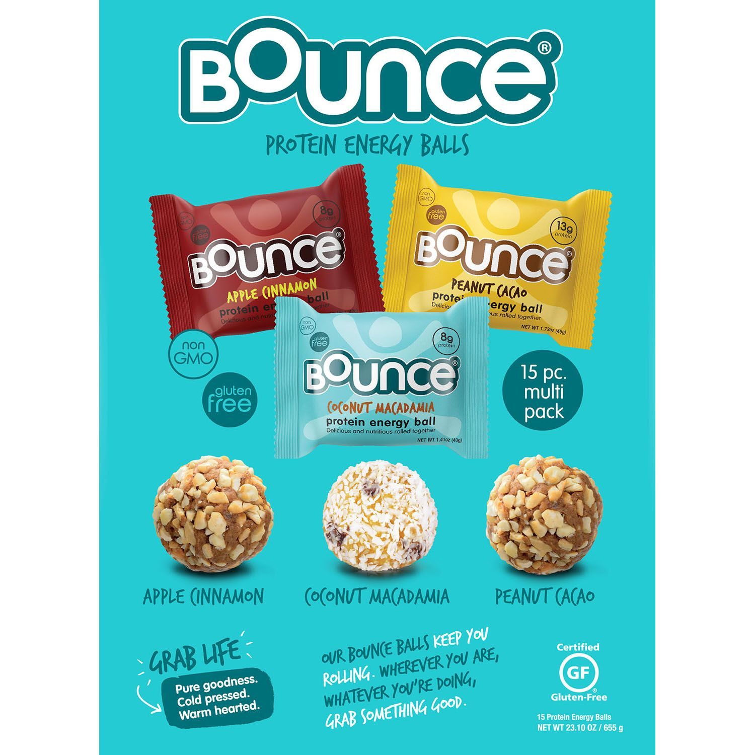 Bounce Protein Energy Balls (15 ct.)
