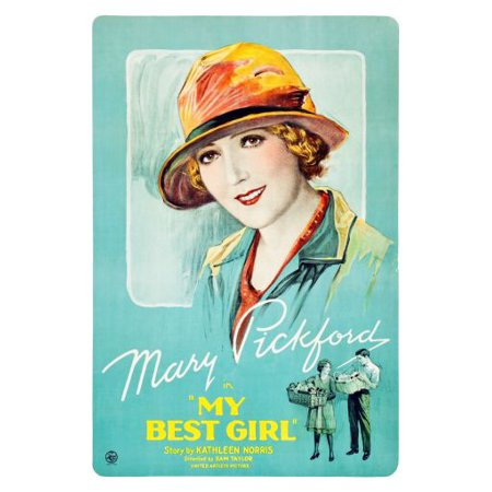 My Best Girl poster Mary Pickford poster Metal Sign 8inx