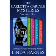 The Carlotta Carlyle Mysteries Volume One - eBook