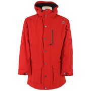 Sessions Parka Snowboard Jacket Red Mens