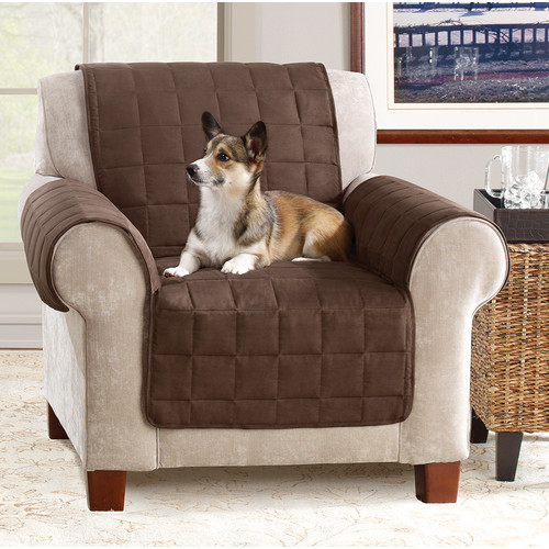 Gentil Sure Fit Ultimate Waterproof Quilted Pet Chair Cover