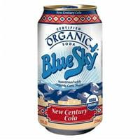 Blue Sky Soda Organic New Century Cola, 12 oz, 6 pack