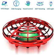 LNKOO Hand Operated Drone for Kids Toddlers Adults - Hands Free Mini Drones with 360° Rotating for Kids Flying Toys for Boys and Girls Hand Drone Kids Self Flying Drone Birthday Gifts