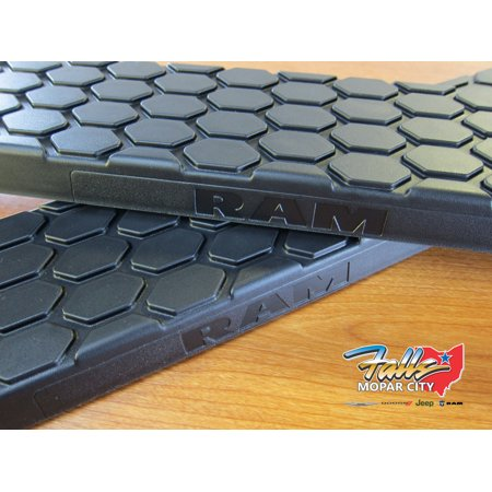 2009-2019 RAM Side Step Nerf Bar Replacement Step Pad Set of 2 MOPAR OEM (Side Step Set)