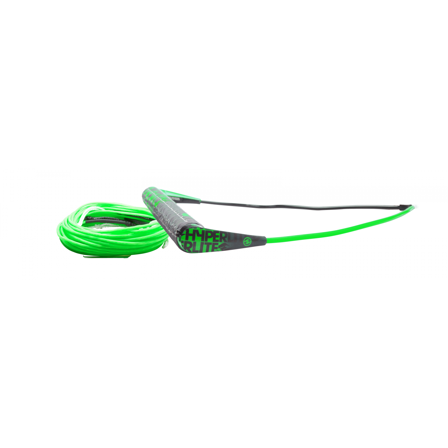 Hyperlite 2018 Team Handle w  A-Line (Green) Wakeboard Rope & Handle Combo by