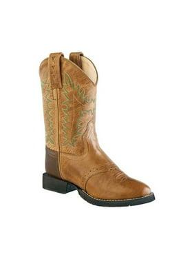 Children's Old West Round Toe Comfort Wear Cowboy Boot - Child