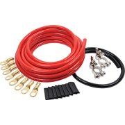 Allstar Performance Battery Cable Kit 2 Gauge 1 Battery ALL76110