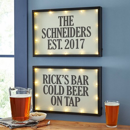 Personalized Any Message Light Sign