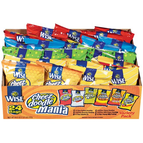 Wise Assorted Snacks Variety Pack, 24ct
