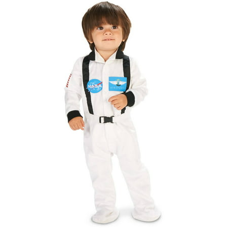 White Astronaut Suit Infant Halloween Costume