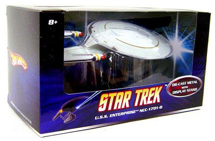 Star Trek Hot Wheels U.S.S. Enterprise NCC-1701-D Diecast Vehicle by