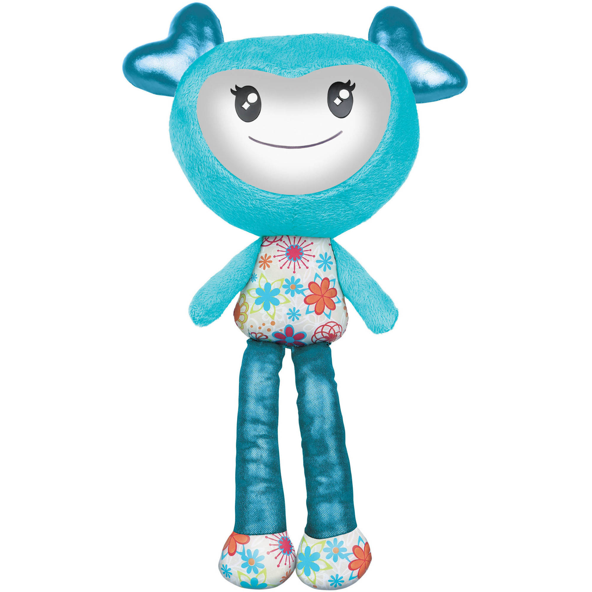Brightlings Interactive Plush, Teal, 15