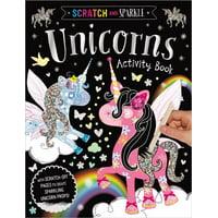Scratch and Sparkle Unicorns Activity Book (Paperback)