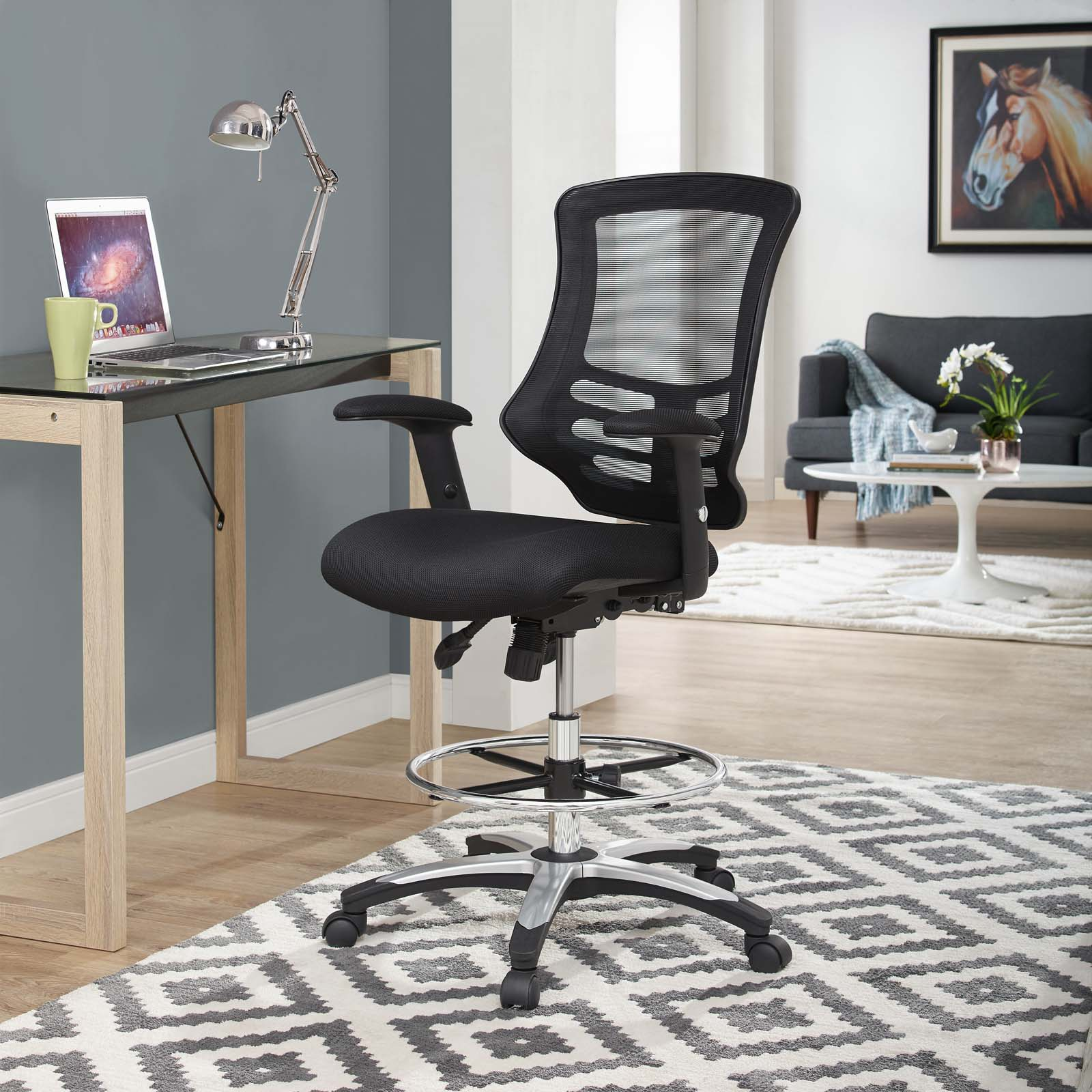 Modway Calibrate Mesh Drafting Chair, Multiple Colors - Walmart.com