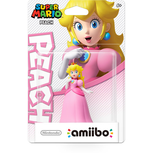 Peach Super Mario Series Amiibo (Nintendo Wii U or 3DS)